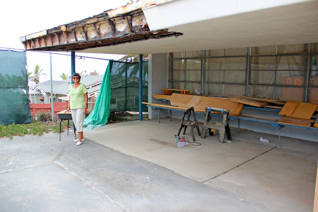 Barth imagines this former classroom on the northwest corner of the Pacific View property becoming a café that will serve the public in the parcel's new incarnation.